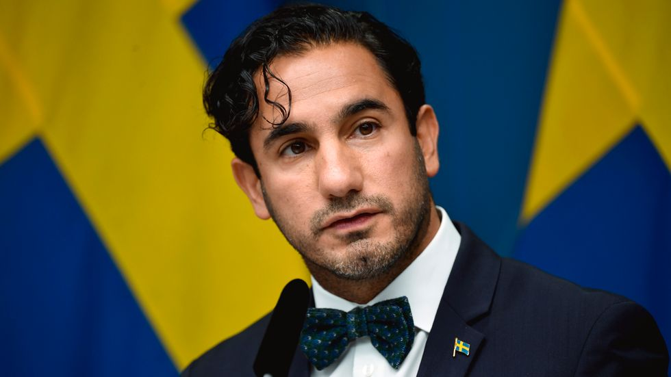 Socialförsäkringsminister Ardalan Shekarabi.