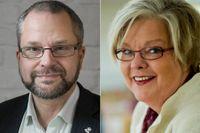 Stefan Nilsson, Ersta Diakoni, och Lotta Säfström, Göteborgs kyrkliga stadsmission, svarar på kritik mot nya regler för upphandling.