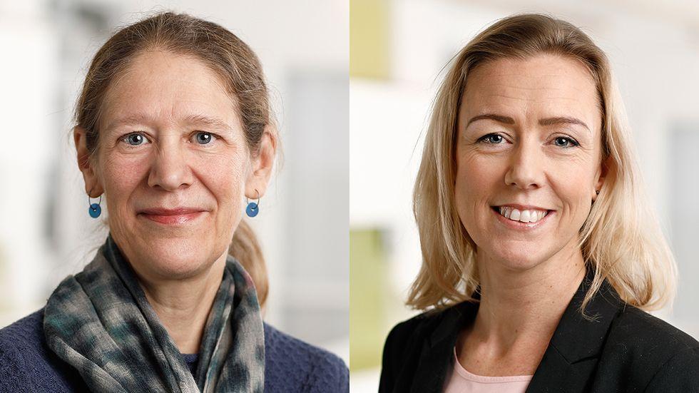 Anna-Karin Lindroos och Anna-Karin Quetel.