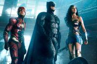 The Flash, Batman och Wonder Woman.