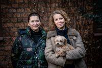 Susanne Engren och Maria Elmfeldt Öhrskog träffar många som kört slut på sig.