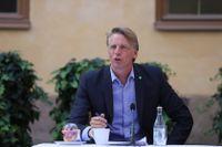 Miljö- och klimatminister Per Bolund anser att IPPC-rapporten är oerhört allvarlig.