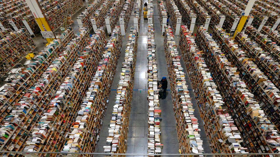 Amazon har över en miljon anställda på lager jorden runt.