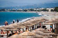 Turisterna väljer Kreta i stället för Kos.