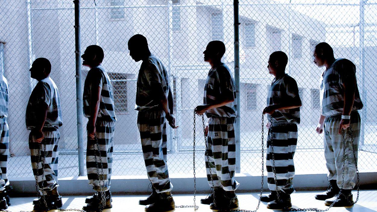 Fångar i Maricopa County Jail i Phoenix.
