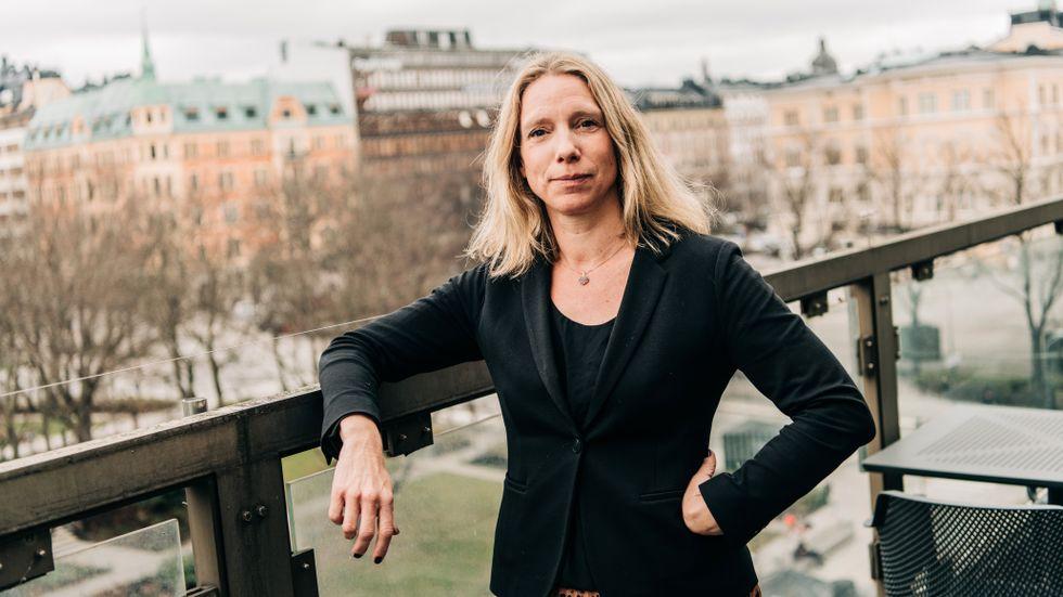 Åsa Pettersson, vd för Energiföretagen Sverige.