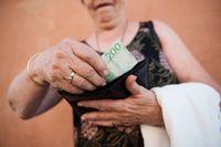 Hur mycket du har att röra dig med som pensionär beror delvis på tjänstepensionen. Arkivbild.