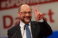 Martin Schulz, partiledare för tyska Socialdemokraterna.