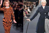 Jane Fonda och Helen Mirren gjorde succé på catwalken