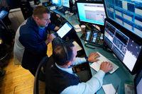 Det var dyster stämning på Wall Street på tisdagen. Arkivbild.