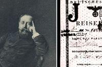 Marcus Ehrenpreis var överrabbin i Stockholm 1914–1948. Den svenska regeringen ville dölja att man fått Tyskland att stämpla ett rött J i alla pass som tillhörde judar.