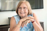 Barbara Bergström, grundare av Internationella Engelska Skolan. Arkivbild.