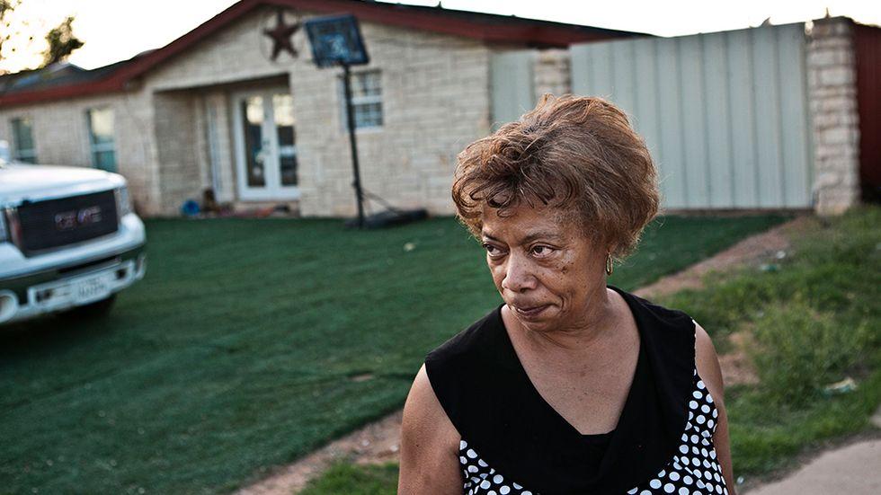 Melinda Merritt har bott i Midland i 60 år. Hon har upplevt oljans effekter, ekonomins toppar och dalar.