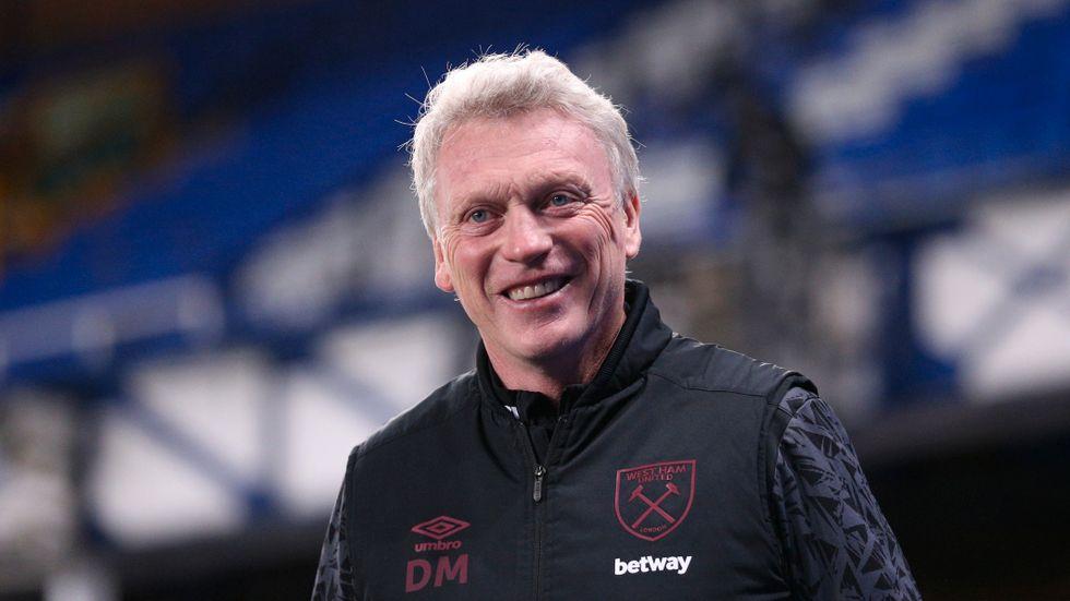 West Hams manager David Moyes kunde le efter en 1–0-seger borta mot hans tidigare lag Everton i Premier League.