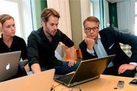 Göran Hägglund frågas ut av SvD:s reportrar Tobias Brandel och Jenny Stiernstedt.