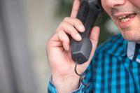 En anställd på Skatteverket spenderade 55 timmar i telefon med sig själv för att slippa jobba. Arkivbild.
