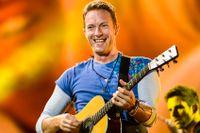 Coldplay spelade på Friends Arena i juli