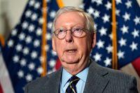 Senatens republikanske minoritetsledare Mitch McConnell. Arkivbild.