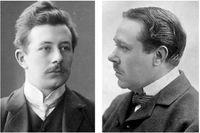 Fredrik Böök (1883–1961) och Hjalmar Söderberg (1869–1941).