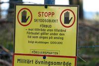 Stora mängder information om svenska militära anläggningar har delats på hemliga chattforum på nätet. Två män utreds nu av Säpo. Arkivbild.