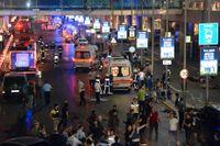 Attacken mot flygplatsen Atatürk i Istanbul på tisdagen har hittills krävt 44 människors liv.