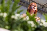 Annie Lööf, partiledare för Centerpartiet som nu lovar bättre jobbmöjligheter för funktionsnedsatta.