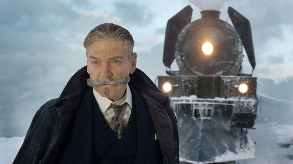Kenneth Branagh som Hercule Poirot.