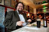 Edward Blom, arkivarie, näringslivshistoriker och gastronom.
