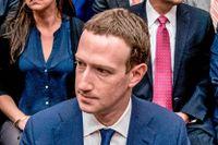 Mark Zuckerberg under förhör i kongressen i april.