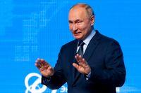 Hopp om ökade gasleveranser från Ryssland efter ett uttalande från president Vladimir Putin trycker ned gaspriset i Europa. Arkivbild.