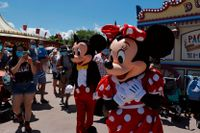 Disneyland i Kalifornien kan vara på väg att öppna upp. Arkivbild.