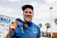 Max Salminen vann brons i världscupfinalen i Marseille.