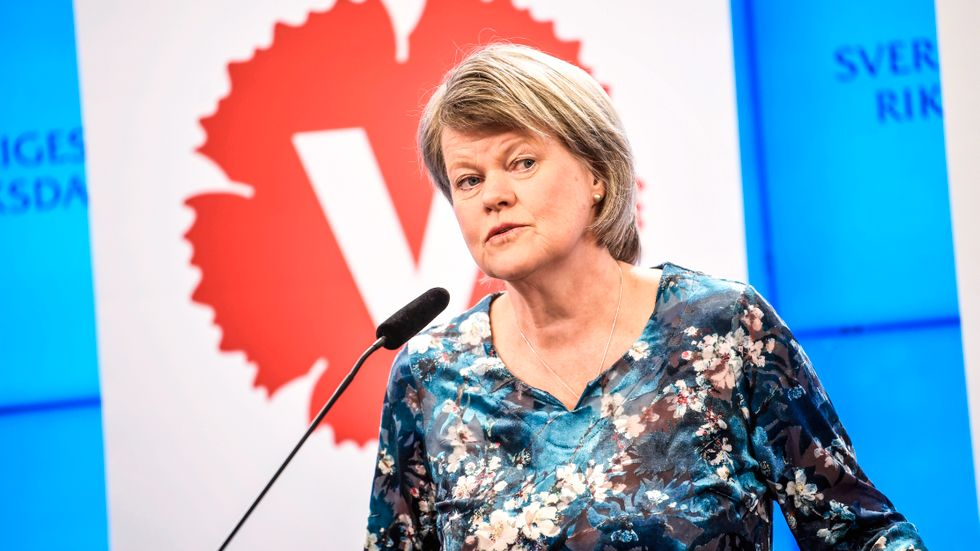 Vänsterpartiets ekonomisk-politiska talesperson Ulla Andersson.