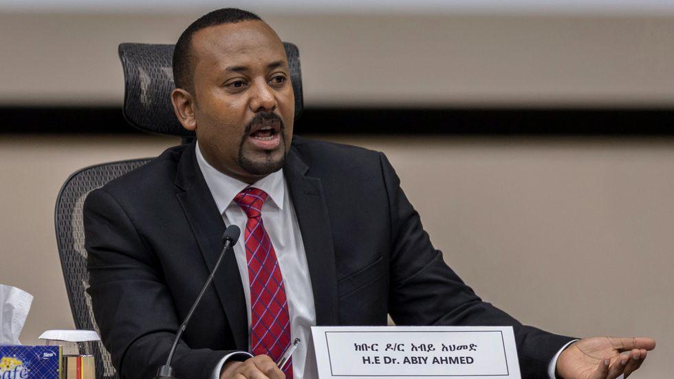 De terrorstämplade grupperna OLA och TPLF samarbetar mot Etiopiens premiärminister Abiy Ahmeds styrkor. Arkivbild.