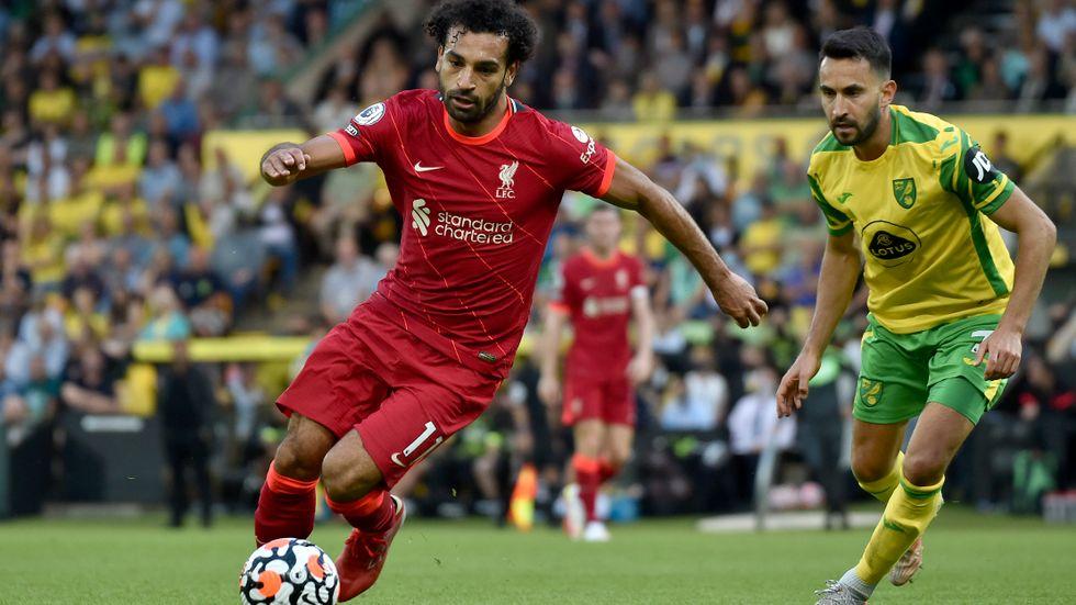 Liverpools Mohamed Salah är en av de Premier League-spelare som stoppas från kommande landslagssamling.