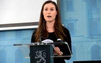 Statsminister Sanna Marin har fått se smitto- och dödstalen stiga i Finland under hösten.