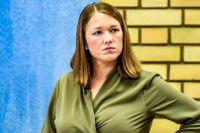 Une Bastholm, partiledare för de gröna i Norge.