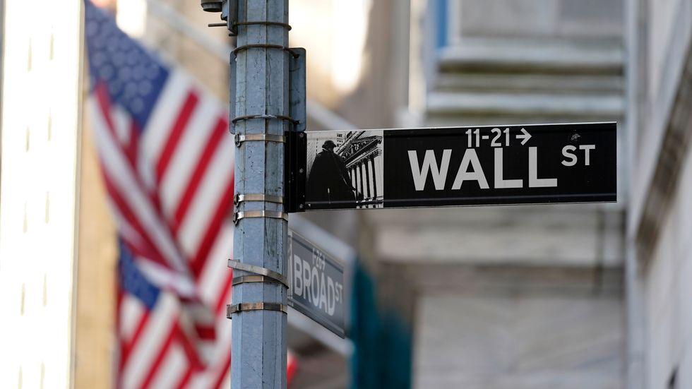 USA-börserna avslutade veckan negativt. Arkivbild.
