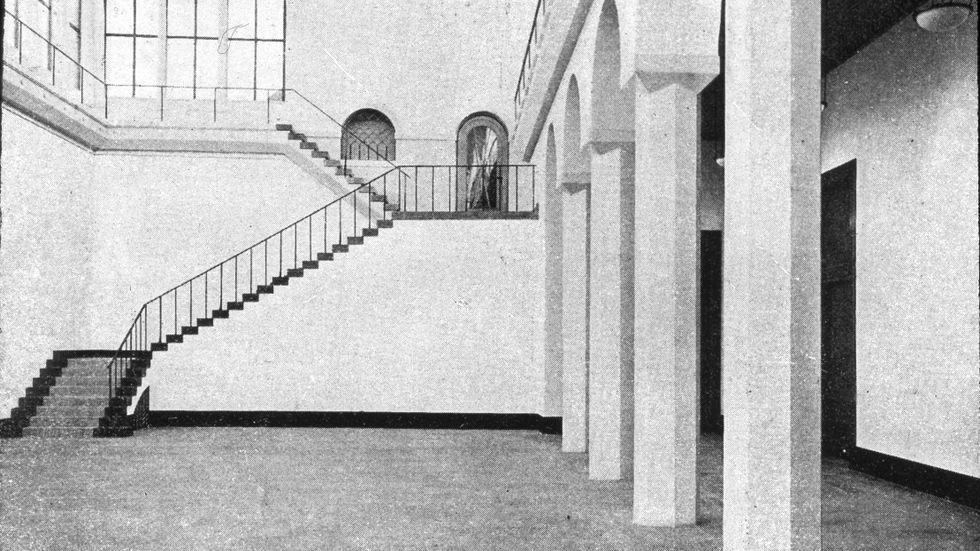 Skulpturhallen i Liljevalchs konsthall, 1914.