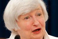 Centralbankschefen Janet Yellen lämnar sitt sista räntebesked. Nästa år ersätts hon av Jerome Powell.