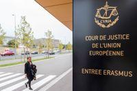 EU-domstolen i Luxemburg.