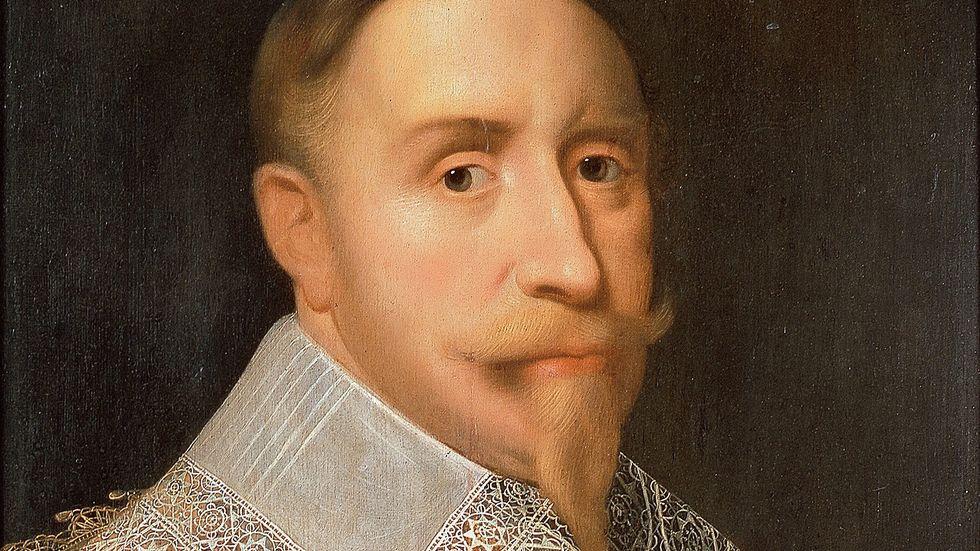 Samtida porträtt av Gustav II Adolf.
