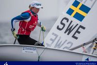 Josefin Olsson hade en dålig dag i seglings-VM och tappade tätplatsen. Arkivbild.