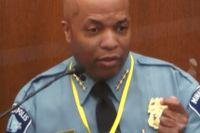 Smärtsamt vittnesmål av polischefen