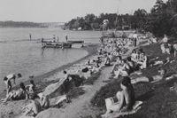 Oxhålsbadet 1942.