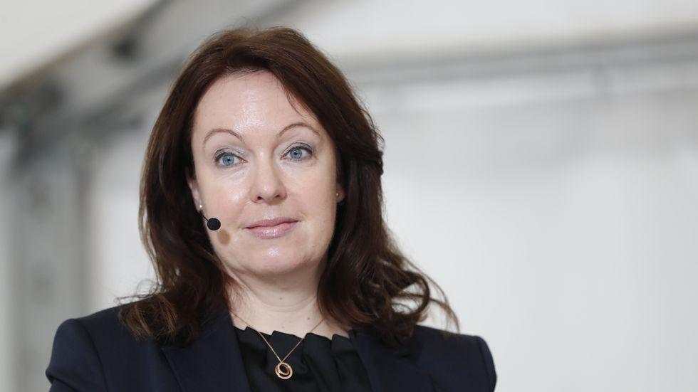 Anna Borg, vd och koncernchef på Vattenfall. Arkivbild.