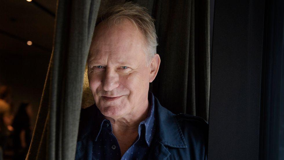 """Stellan Skarsgård spelar en av huvudrollerna i Hans Petter Molands film """"Ut och stjäla hästar"""" som prisades i Berlin. Arkivbild."""