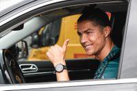 Cristiano Ronaldo kan vara nöjd med sin lön. Arkivbild.