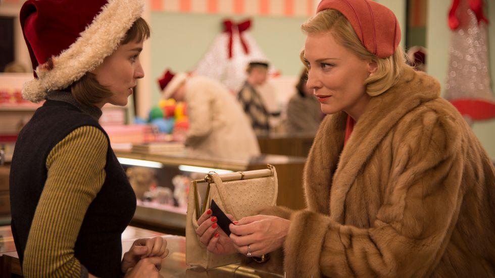 """Rooney Mara och Cate Blanchett i """"Carol""""."""