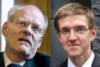 Riksbankschefen Stefan Ingves och vice riksbankschefen Martin Flodén.